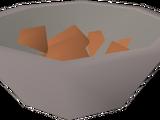 Panning tray