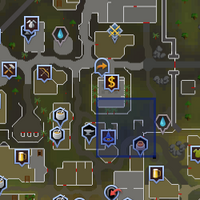 Shooting Star (Varrock east bank) location