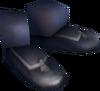 Tuxedo shoes detail