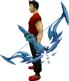Augmented Seren godbow equipped