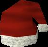 Chapéu de Papai Noel detalhe