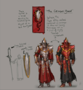 Crimson Guard concept art