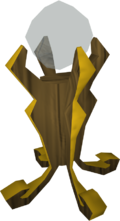 Crystal of power detail