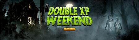 Double XP Weekend head banner