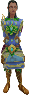 Grand Exchange clerk (elf)