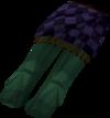 Highland kilt (purple, female) detail