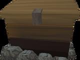 Log storage box