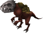 Runtstable pet