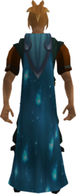Starfire cape equipped
