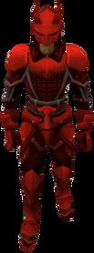Equipamento dragônico leve equipado