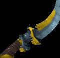 Exquisite sword detail