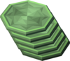 Green charm slice detail