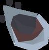 Huge meteorite detail