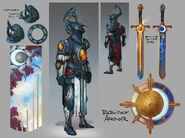 Lunite Armour concept art