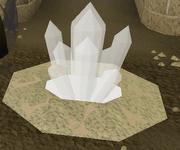 MEP2 tempel wit kristal