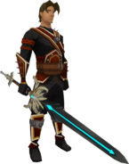 Silverlight (dyed) equipped