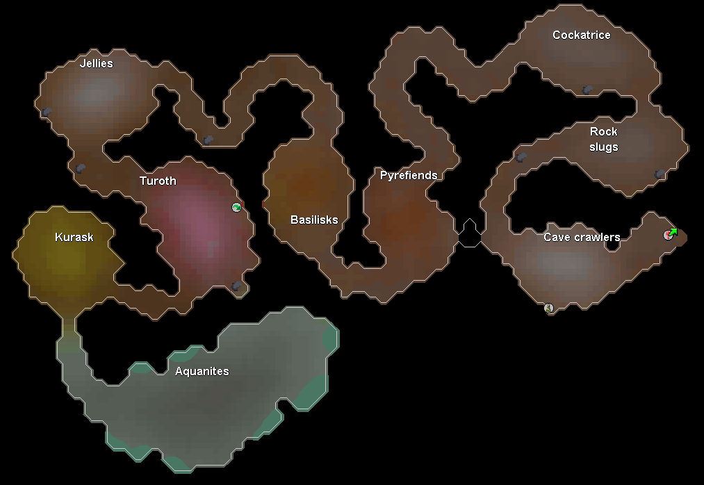 Slayer dungeon map2