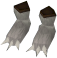 Werewolf paws (white, male) detail