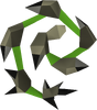 Abyssal whip (green) detail