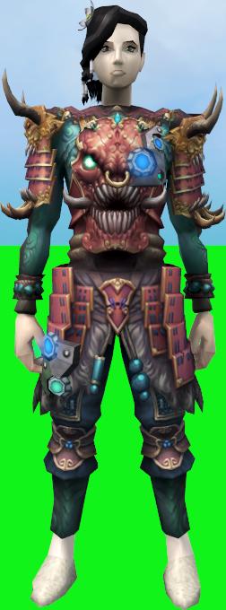 Augmented High Armour Of Hanto Cuirass Runescape Wiki Fandom