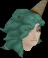 Beach Mint Hair chathead (female)