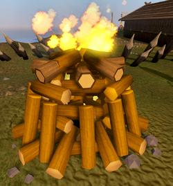 Bonfire (Winter event, 120)