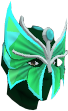 Butterfly mask chathead