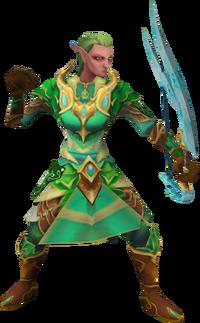 Cadarn ranger (non-interactive) (female)
