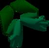 Giant frog legs detail