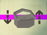 Mahogany toy box (flatpack)