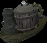 Mi-Gor's zomboat