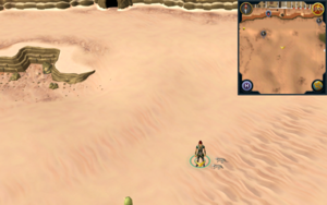 Scan clue Kharidian Desert south-east of north-western mine