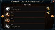 Ship Status