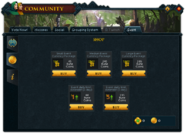 Community (Aiding the Exile) interface 2