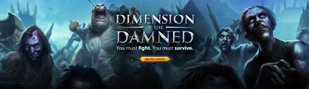 Dimension of the Damned head banner