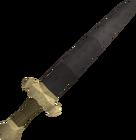Iron longsword detail old