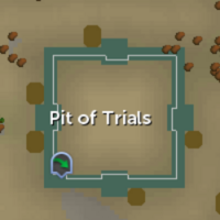 Pit of Trials map