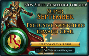 Super September Popup
