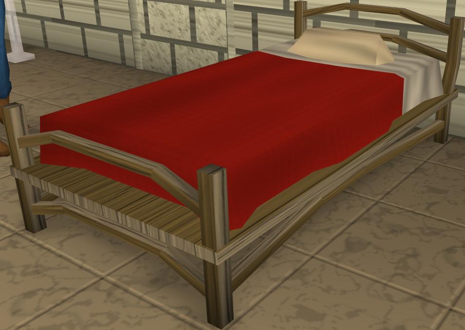 Teak Bed Runescape Wiki Fandom