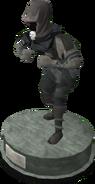 Wildstalker helmet (tier 1) statue