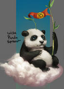 Wise Panda Sprout concept art