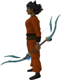 Augmented crystal bow equipped