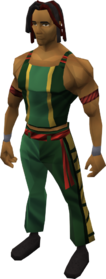 Capoeira outfit equipped (male)