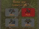 RuneScape scherm