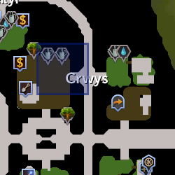 Eirlys location