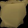 Empty sack detail