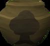 Fragile woodcutting urn (nr) detail