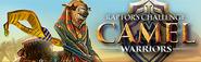 Raptor's Challenge Camel Warriors lobby banner