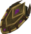 Duskweed shield detail