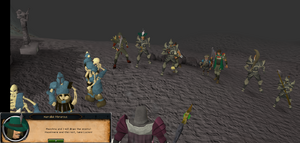 Heroes arrive to battle Lucien